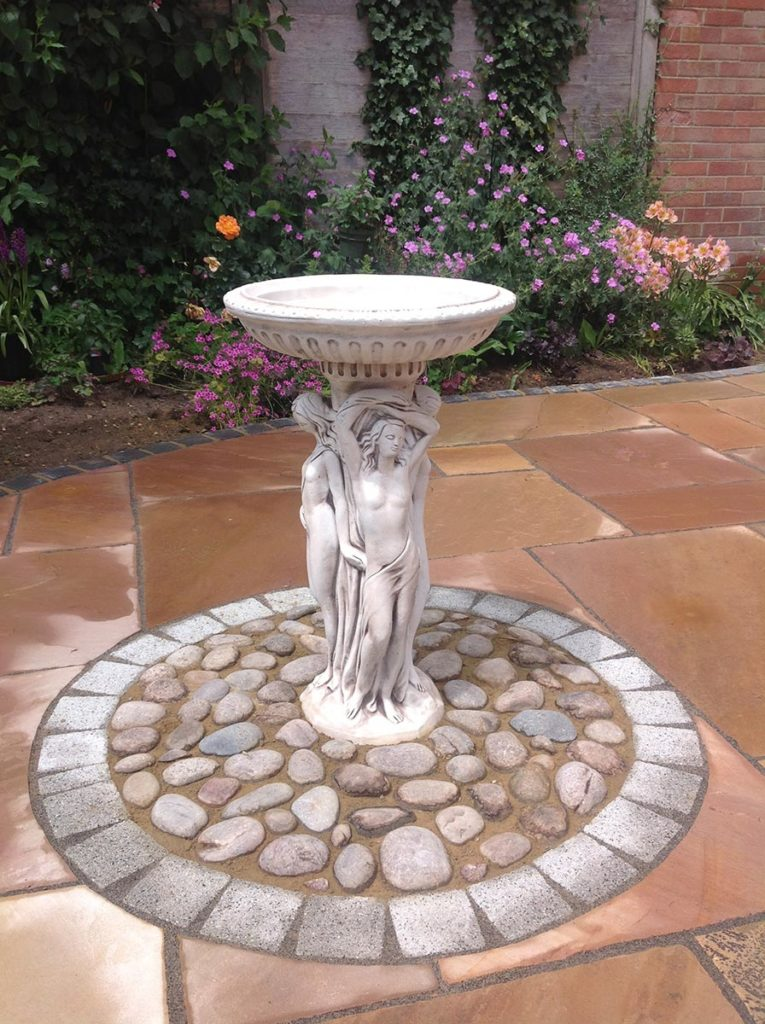 Sandstone Patio Built by Paul Cass Landscapes