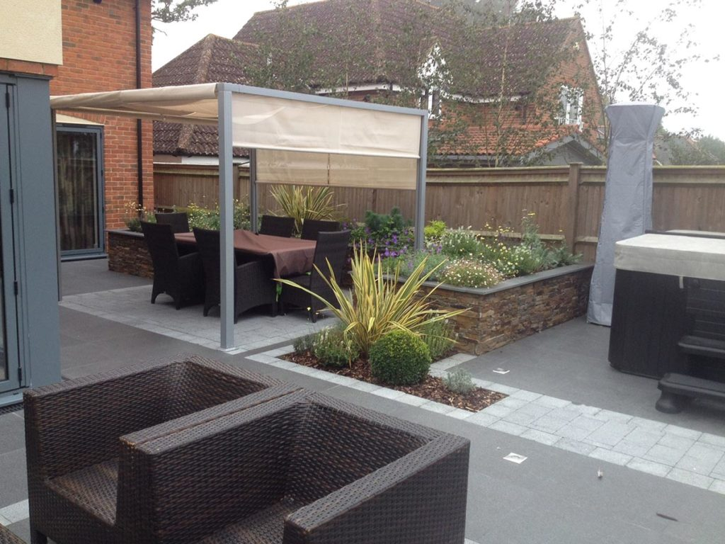 Garden Landscaped in Landford by Paul Cass Landscapes