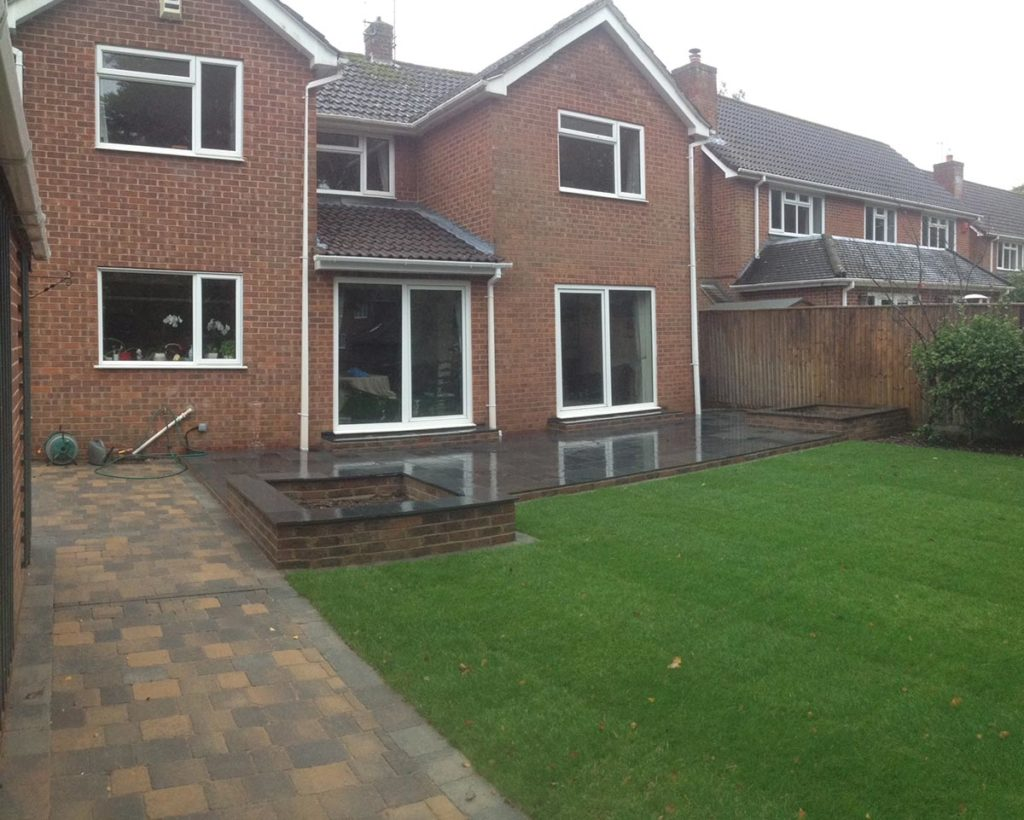 Patio and Garden Build in Romsey by Paul Cass Landscapes
