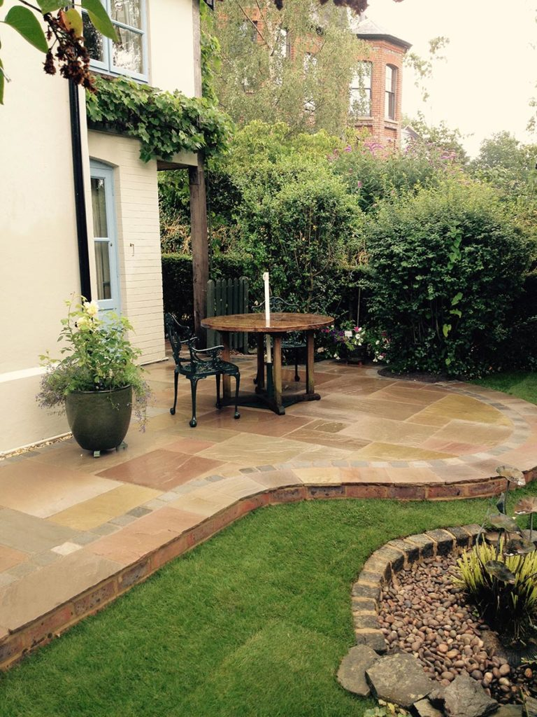 Patio and Garden Build in Salisbury by Paul Cass Landscapes