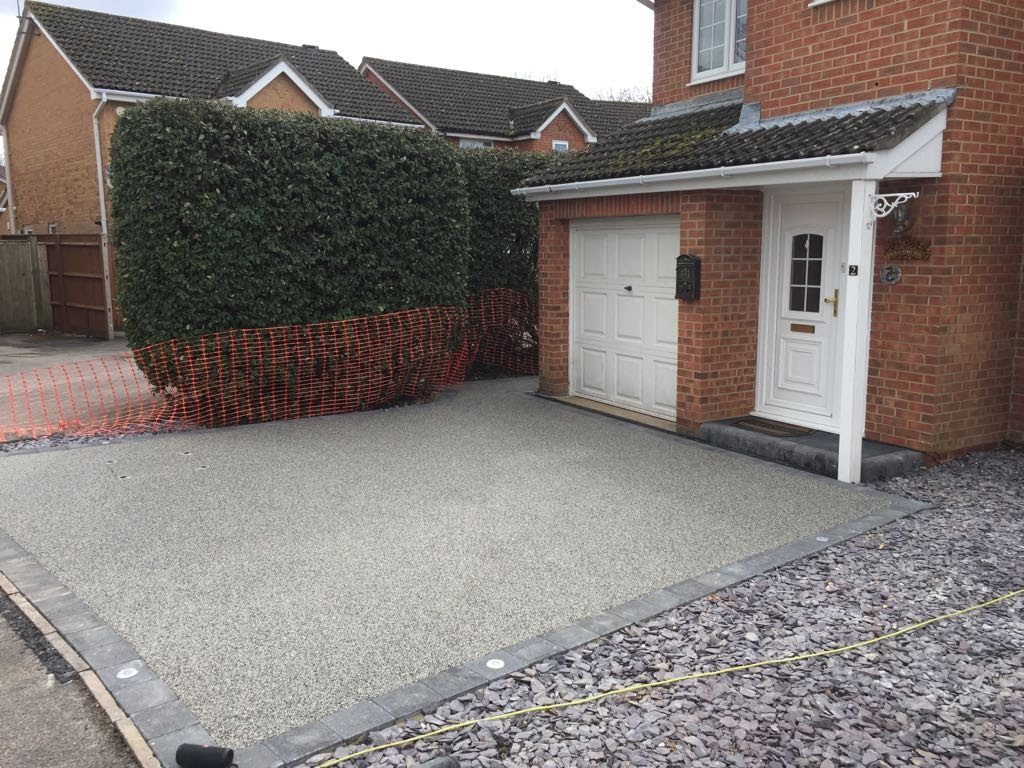 Resin Bound Driveway Totton Hampshire